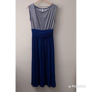 Stitchfix Gilli Color Block Midi Dress Size M